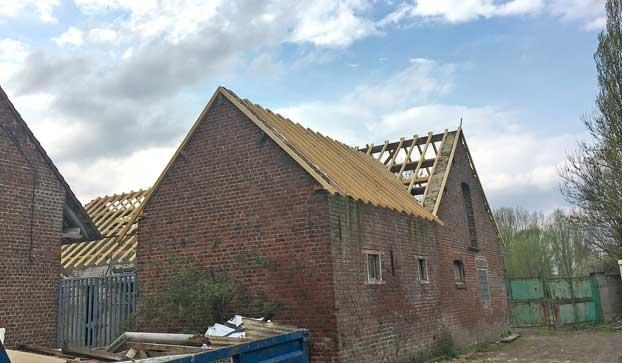 Rénovation d'anciens corps de ferme